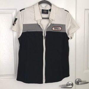Short sleeve Harley Davidson shirt
